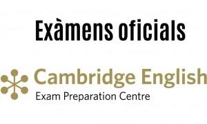 Convocatòria exàmens Cambridge English per al juny