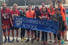 Cambridge School en la Mitja Marató