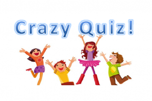 ¡Crazy Quiz para niños en febrero!