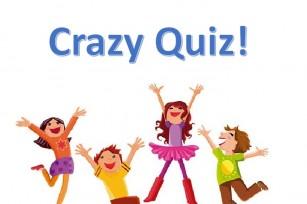 ¡Crazy Quiz para niños en mayo!