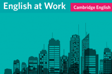 English at Work - Cambridge report