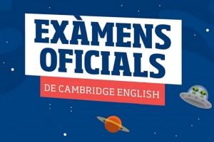 Convocatòria exàmens oficials Cambridge English - juny