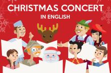 Concierto de Navidad en inglés