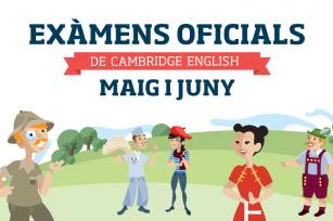 Cambridge English official exams - June