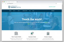 New Teacher Training website