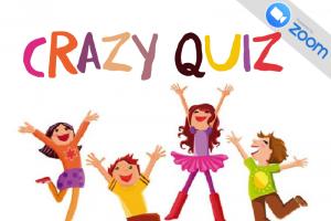 ¡Crazy Quiz para niños por ZOOM!