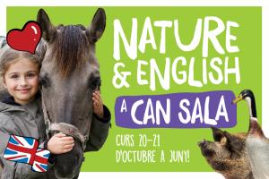 NOU Anglès i natura a la granja de Can Sala