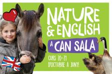 NUEVO Inglés y naturaleza en la granja Can Sala