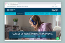NUEVA WEB Cambridge School ZOOM