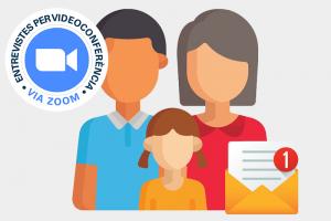 Entrevistas final de curso padres-profesores